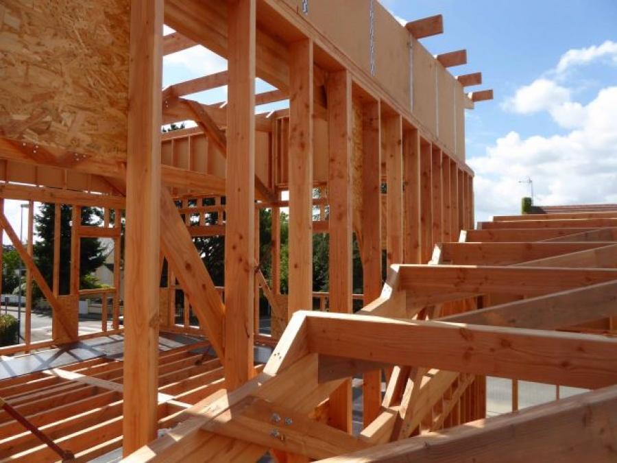 Bois et beton de chanvre un mariage innovant for Construction bois 35