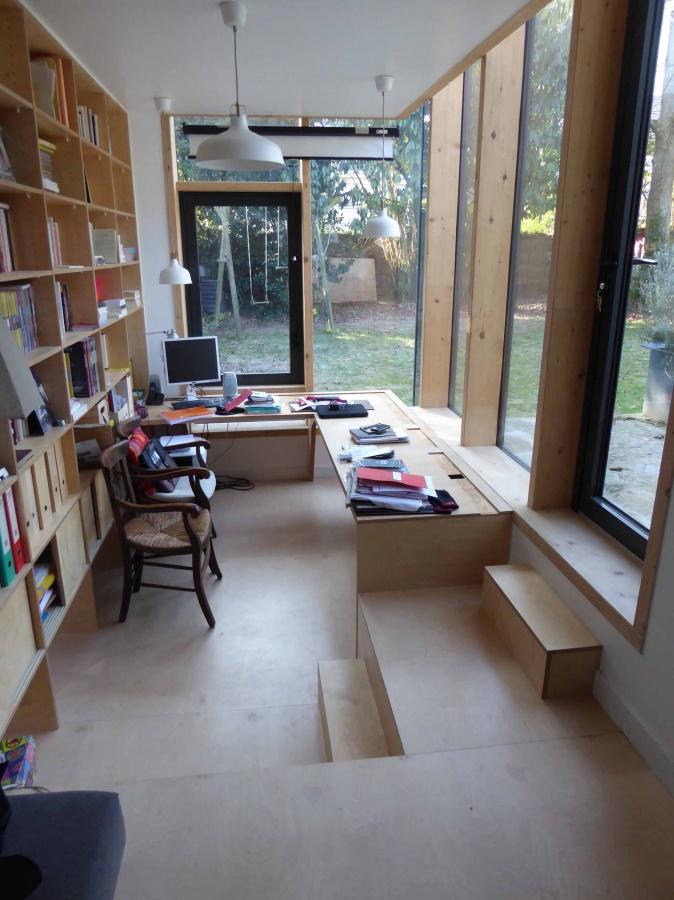 un nouveau bureau tout de verre v tu nantes. Black Bedroom Furniture Sets. Home Design Ideas