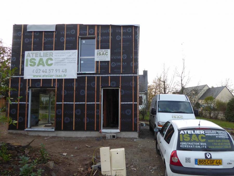 Maison ossature bois treilli res for Construction bois 21