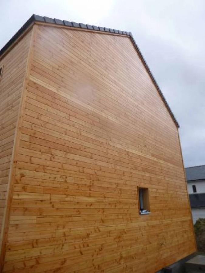 Une maison a pouss la chapelle sur erdre for Entreprise construction maison bois