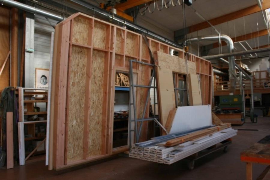 Une nouvelle maison ossature bois nort for Extension maison 3 murs