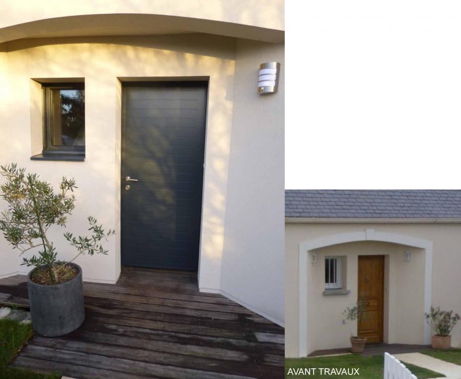 R novation et extension d 39 une maison particuli re suc for Extension maison 93
