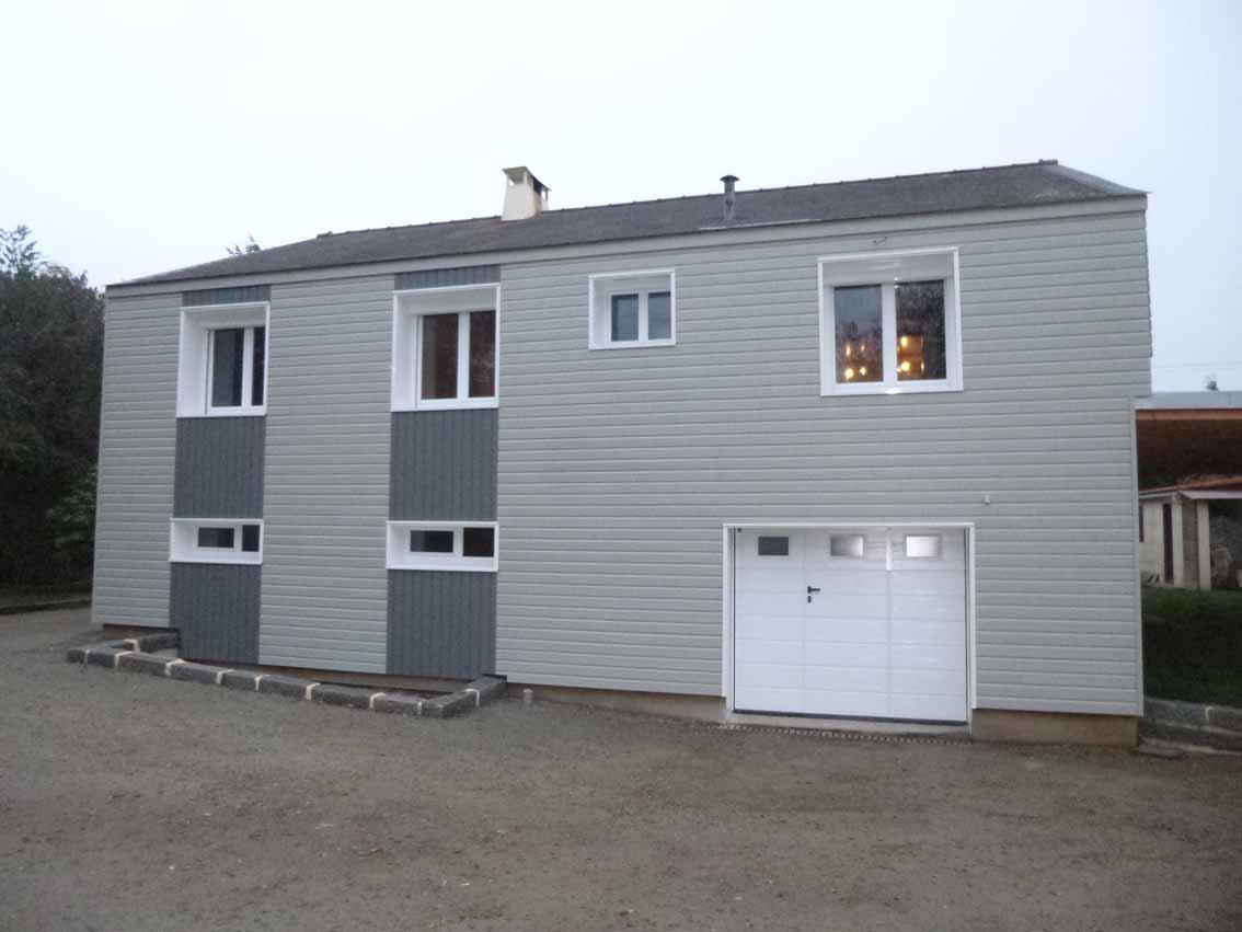 Isolation par l 39 ext rieur d 39 une maison d 39 habitation for Exterieur d une maison