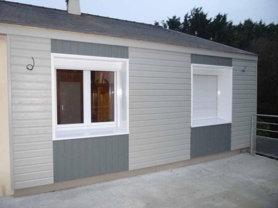 isolation par l 39 ext rieur d 39 une maison d 39 habitation existante et cr ation d 39 un pr au. Black Bedroom Furniture Sets. Home Design Ideas